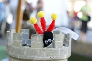 Un woopy prend possession d'un château sur le Flip 2011