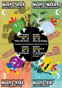 Toutes les nocturnes Woopy On Off sur le FLIP 2012