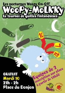 mardi 10 juillet 2012 - place du Donjon à Parthenay - de 21h à 2h !