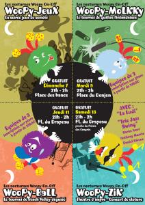 Les Nocturnes Woopy On Of sur le Festival des jeux de Parthenay en 2013