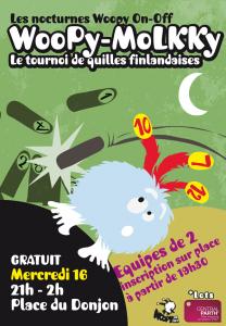 Nocturne Off du FLIP 2014 : Woopy Mölkky