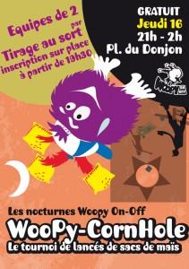 Soirée Woopy tournoi CornHole FLIP 2015