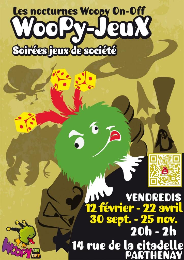 affiche soirées woopy-jeux 2016 à Parthenay