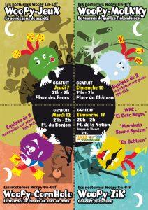 Les soirées d'animation woopy on off sur le FLIP 2016
